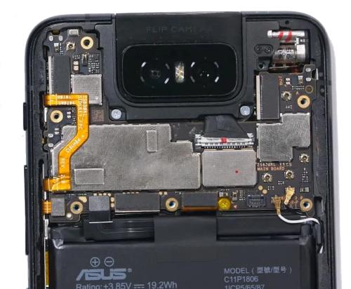 Комплектующие детали смартфонов Асус